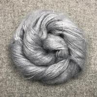 Silk Mohair Ljusgrå