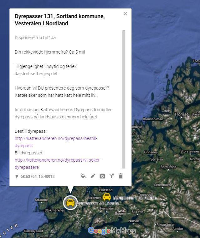 Dyrepasser 131, Sortland kommune, Vesterålen i Nordland