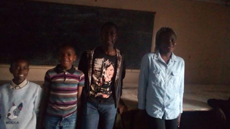 Ephraim, Moses, Obine and Yvonne