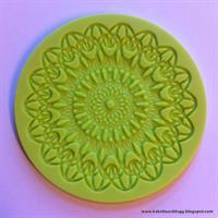 Silikonform Lace Blomst 7