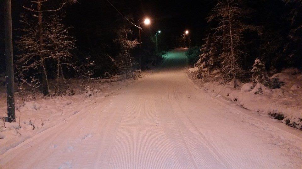 Ljosløypa - 5 kilometeren