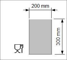 Kok/Sous-vide påse 200x300 mm