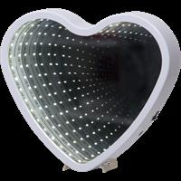Heart mirror light vit Star Trading