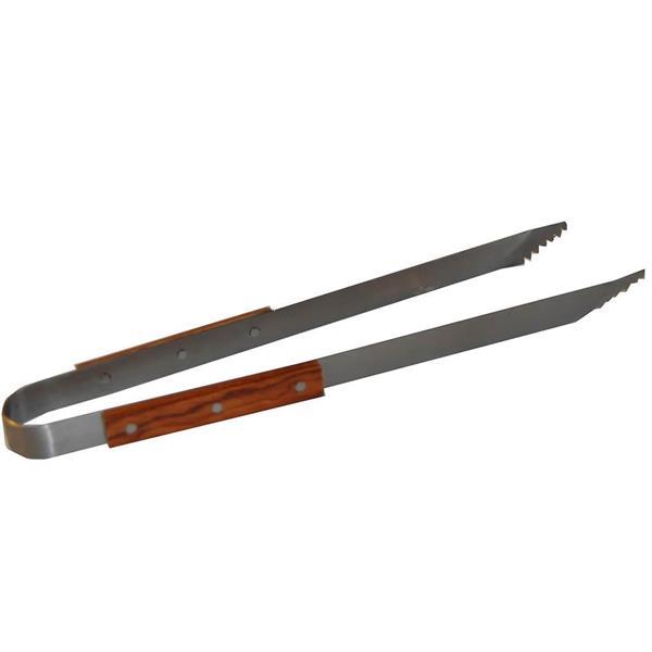 Grilltång med träskaft 39cm