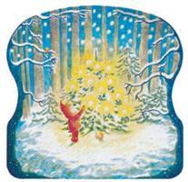 Jouluyö metsässä-adventtikalenteri