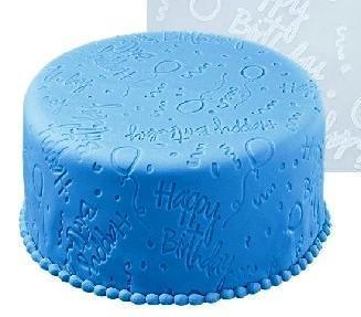 Mønstermatte, Happy Birthday