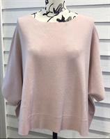 Piro Oversize Knit Vest, Rosa