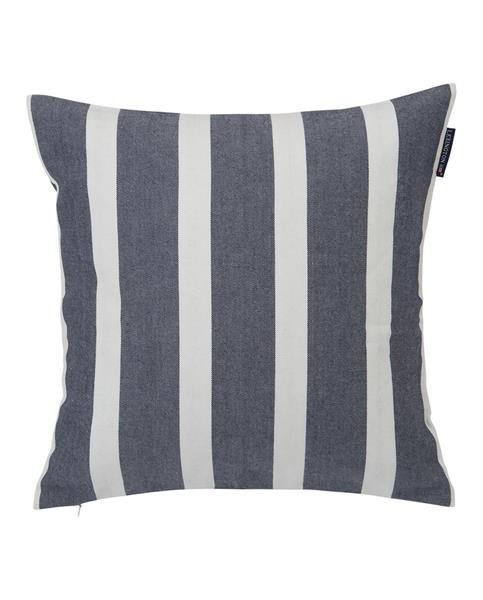 Lexington Wide Stripe Sham, Blue/White