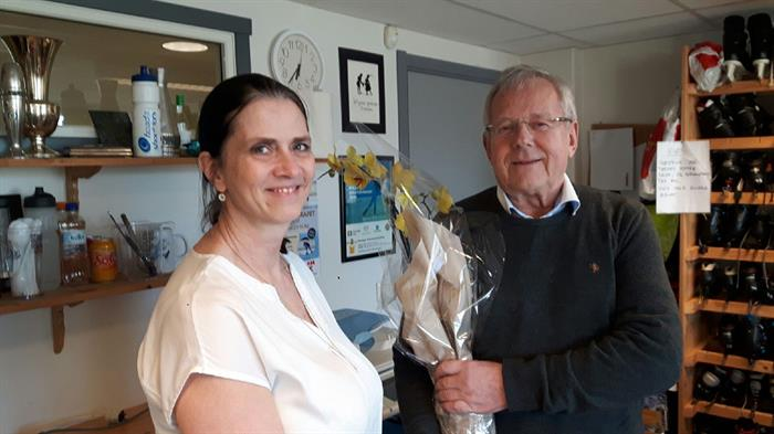 Styret: Jan Lokshall takker for seg