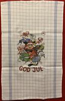 Handduk God Jul bomull