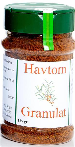 Granulat Havtorn 125g krydd