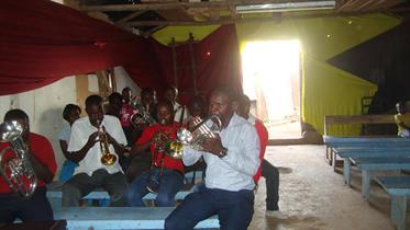Makutano Corps Band including Robert