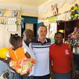 Kibera Corps Officers Peter and Beatrice Asiema