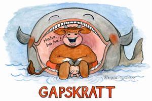 Gapskratt 7x9
