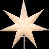 Julstjärna Sensy Star 54cm vit Star Trading