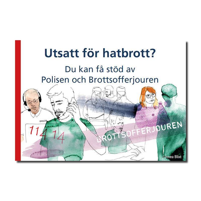 Informationskort A7 - Hatbrott (svenska)