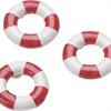 Meriaiheiset koristeet pelastusrenkaat 2,5cm 6kpl/pss.