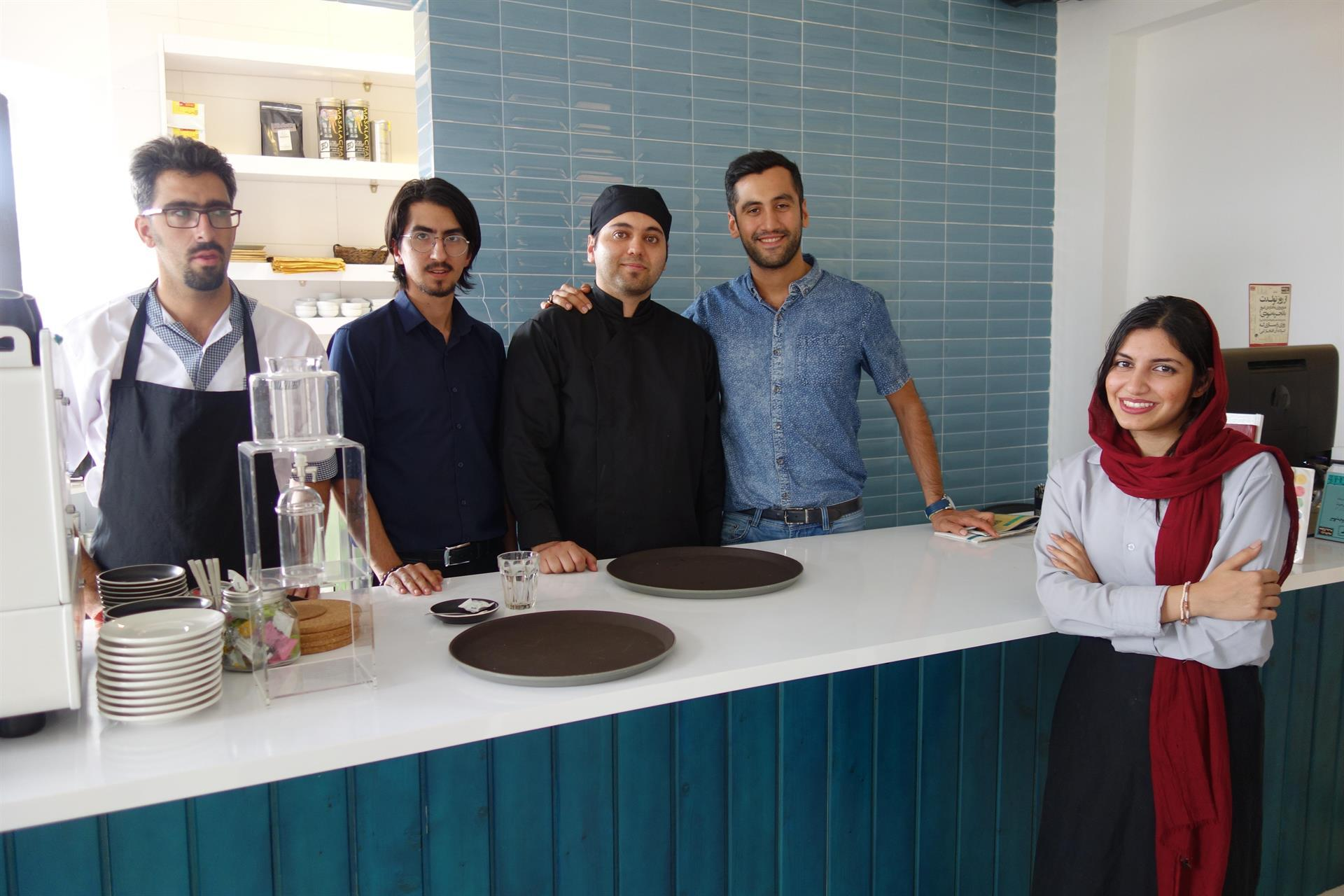 Lunsjbar i Shiraz