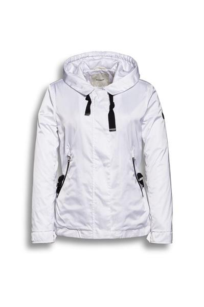 Beaumont Sporty Sateen Jacket, White