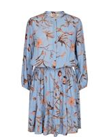 Mos Mosh Theresa Thistle Dress, Bel Air Blue