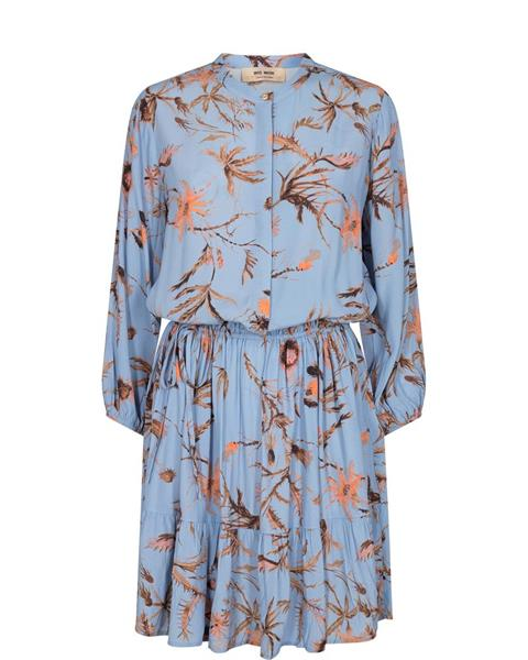 Mos Mosh Theresa Thistle Dress, Bel Air Blue