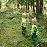 vi är ofta på heldagsutflykt i skogen