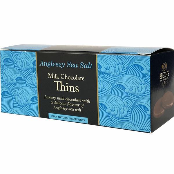 Milk Chocolate & Anglesey Sea Salt 150g