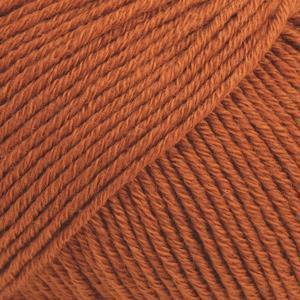 Cotton Merino Rust