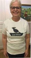 T-shirt Kontrast 130-140 vit