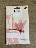 Lovikort Slända rosa 3D-pussel 10 cm