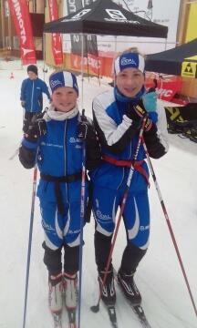 Skisamling på snøføre
