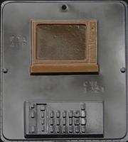 Plastform Tv og Fjernkontroll