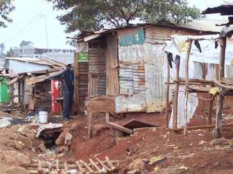 Vid Frälsningsarmén i Makutano