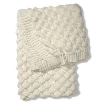 Classic Collection Throw Gems, White