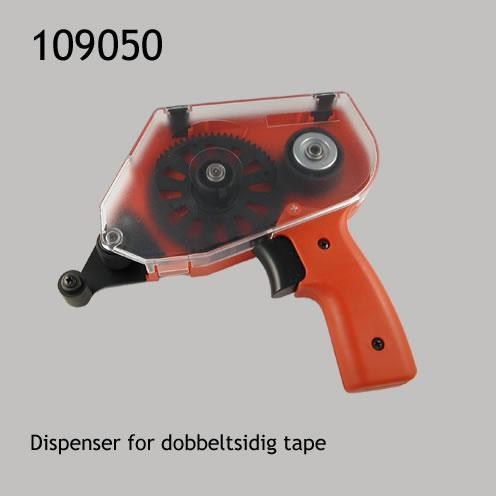 Dispenser for dobbeltsidig tape