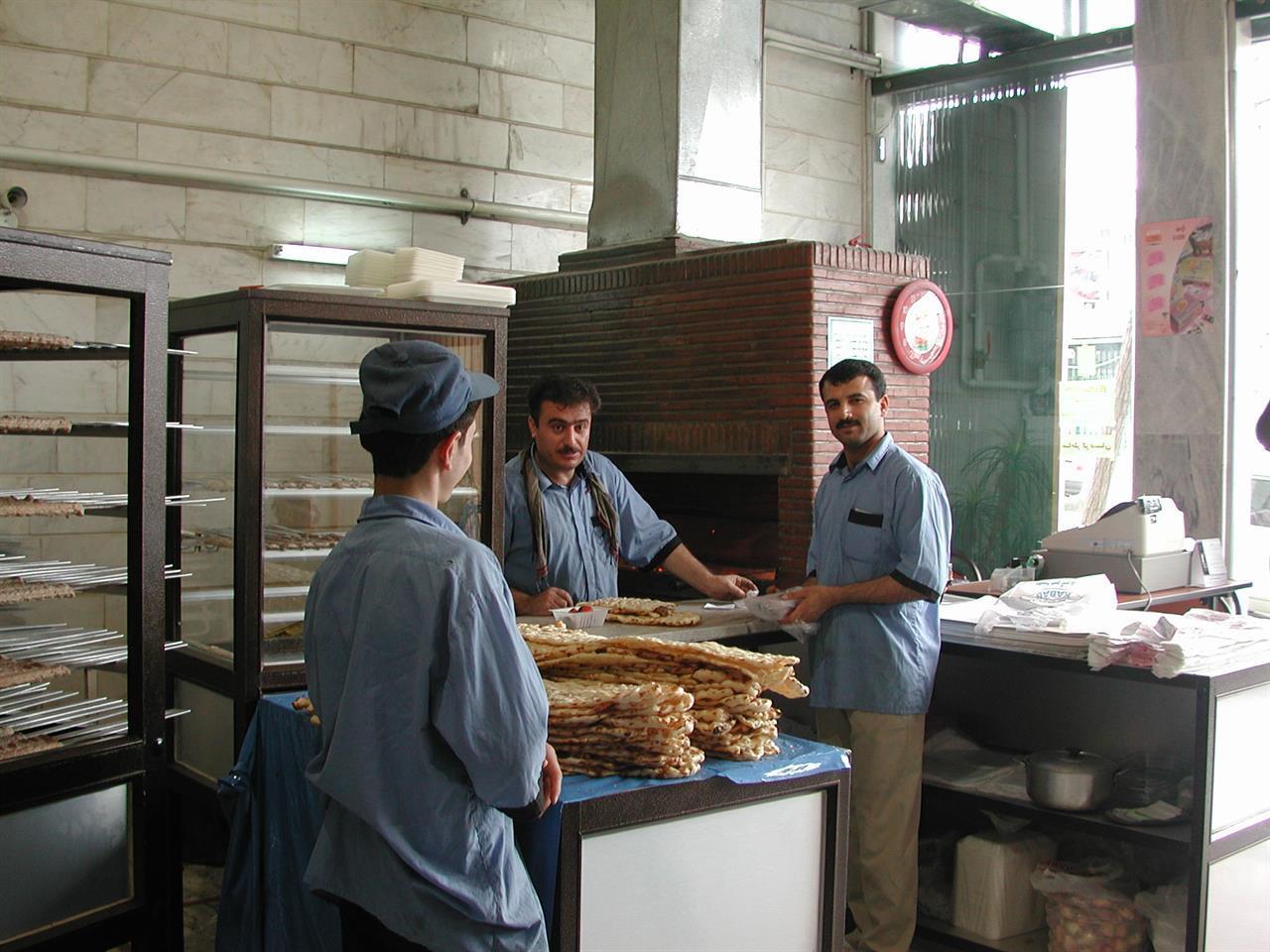 Brødbakeri i kurdisk Sanandadj