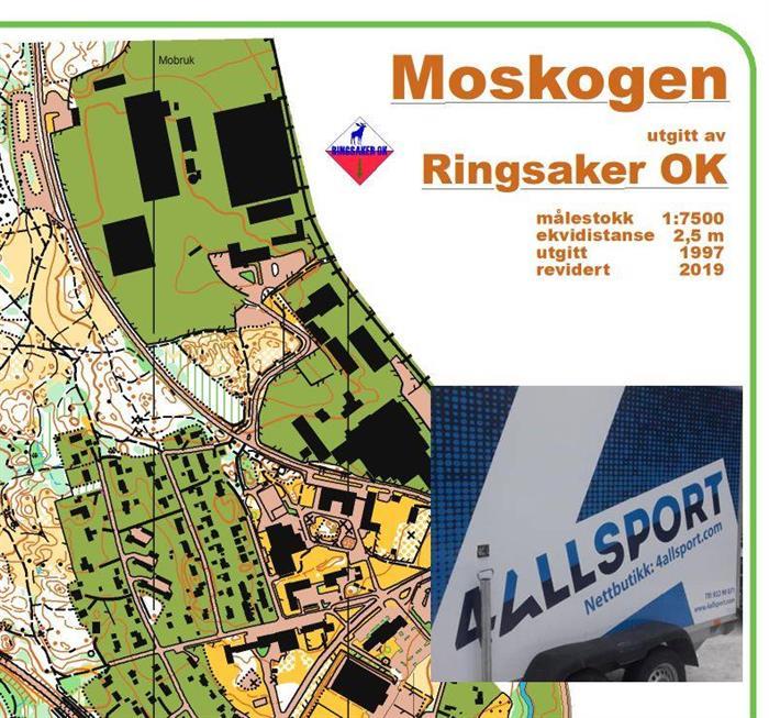 Vanlig treningsløp torsdag 11. juni i Moskogen