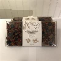 Mjölkchoklad -Lingon&Blåbär-  100g