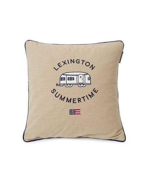 Lexington Airstreamer Cotton Canvas Pillow Cover