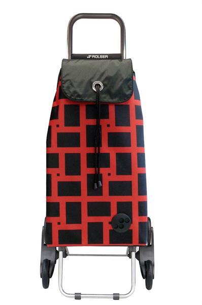 Shoppingvagn Rolser Rd6 Logic Geometric rojo