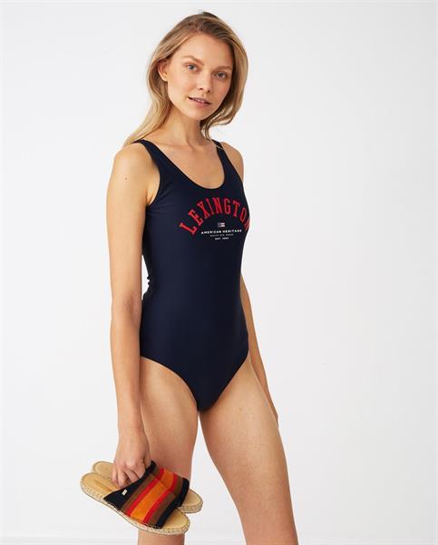 Lexington Lisa Swimsuit, Dark Blue