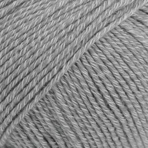 Cotton Merino Mellomgrå