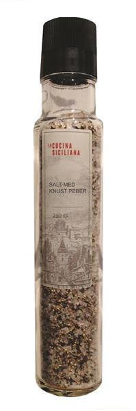 Siciliansk Salt og Pepperkvern 250g