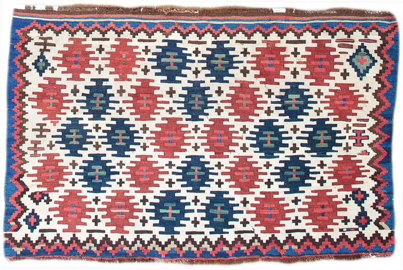 221 Shahsavan mafrash 98 x 61