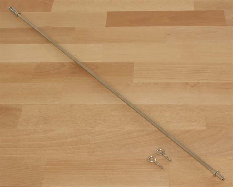 Trappstång 73 cm mattbredd