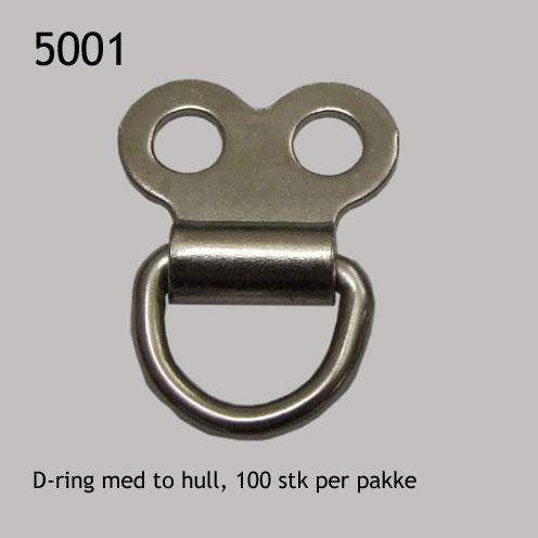 D-ring med to hull