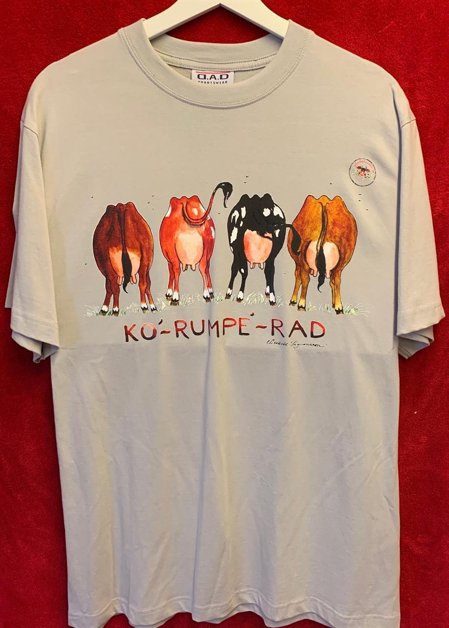 T-shirt Korumperad M silvergrå