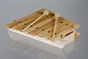 Auris xylofoni, diatoninen, puukielet