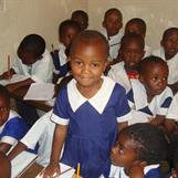 Pratley Mideva in her school