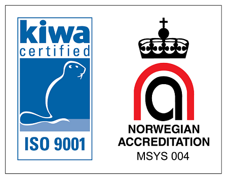 Consolid AS - ISO 9001:2015 sertifisering